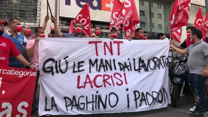 Die Reaktion der Arbeiter auf die Brutalität der Polizei - ein neuer heftiger Streik bei Fedex/TNT