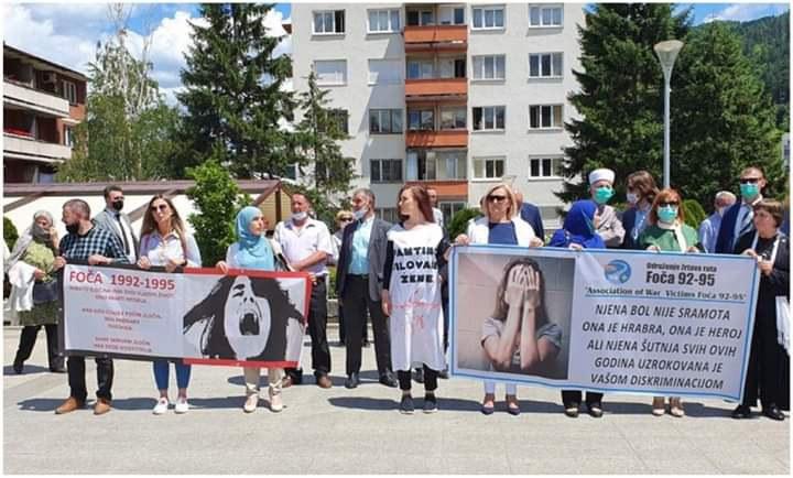 Gedenk- und Protesttag in Foca