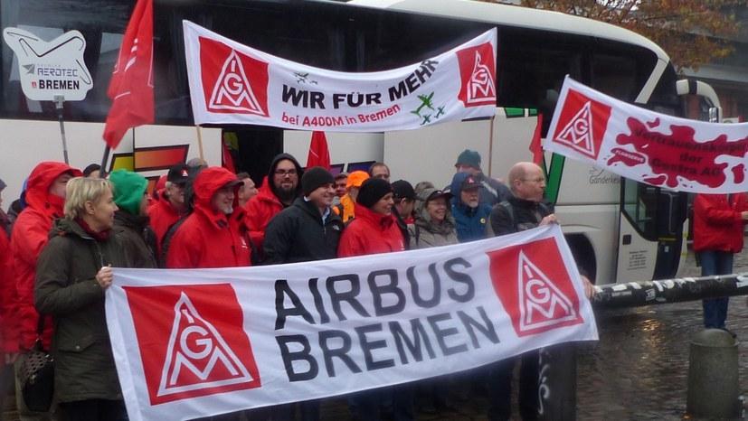 """""""Frontalangriff von Airbus/PAG auf die ganze Belegschaft!"""""""