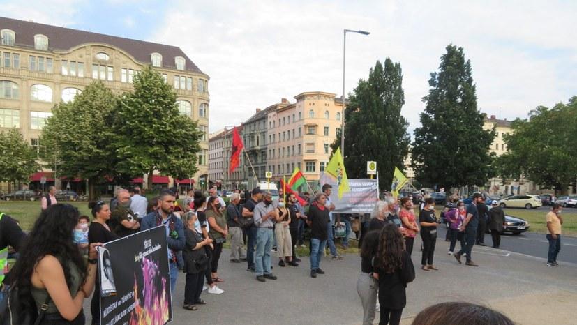 MLPD solidarisch mit alevitischen Kurden.