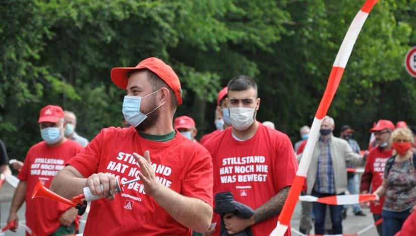 AUF solidarisch mit Geldbach-Kollegen