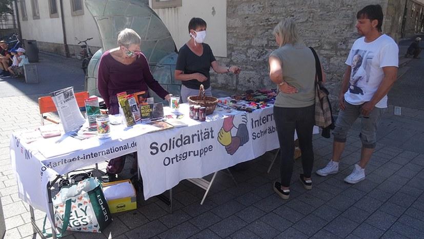 """Hohe Spendenbereitschaft für """"Garten der Solidarität"""""""