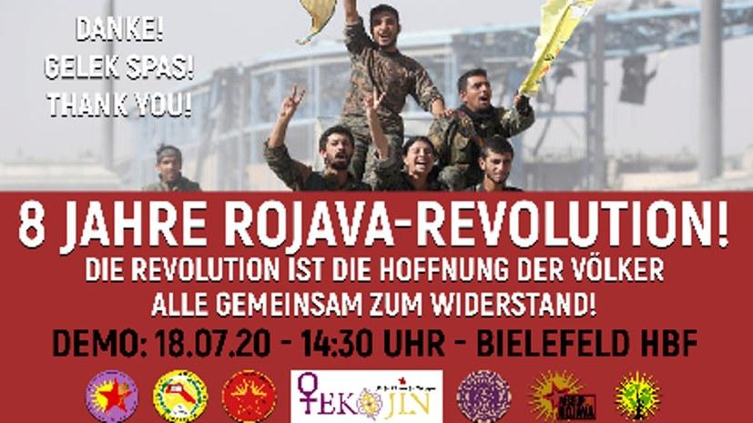 Jinda-Berxwedan-Demonstration für Rojava