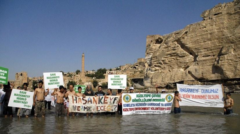 Ilisu-Staudamm: Hasankeyf weitgehend unter Stausee