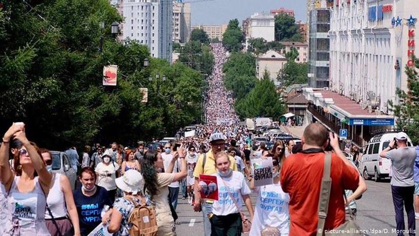 Stellungnahme der RKRP zu den Protesten in Russisch-Fernost
