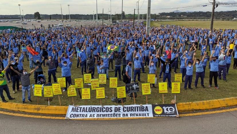 Unbefristeter Streik bei Renault in Curitiba geht weiter