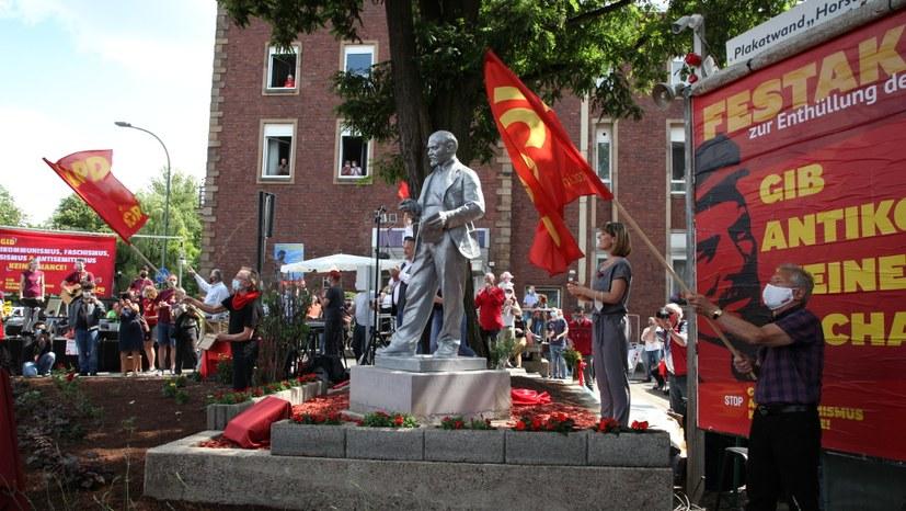 24.844,72 Euro gesammelt – Lenin-Statue komplett durch Spenden finanziert