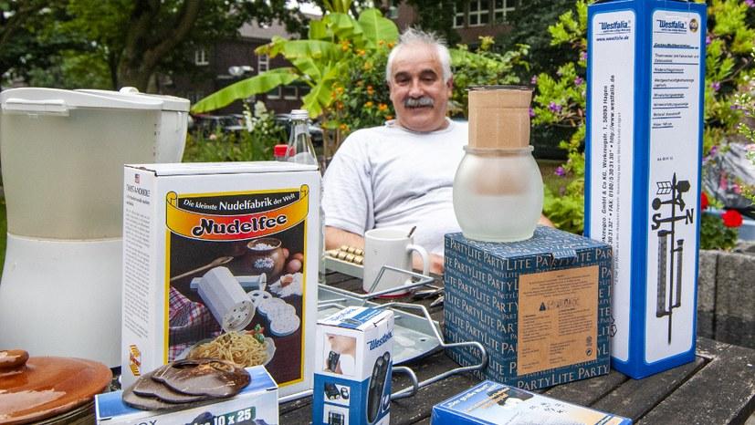 Erster Flohmarkt erfolgreich unter Corona-Bedingungen durchgeführt!