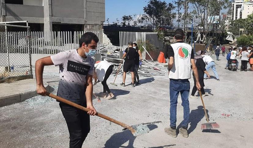 """""""Katastrophale Explosion in Beirut"""""""