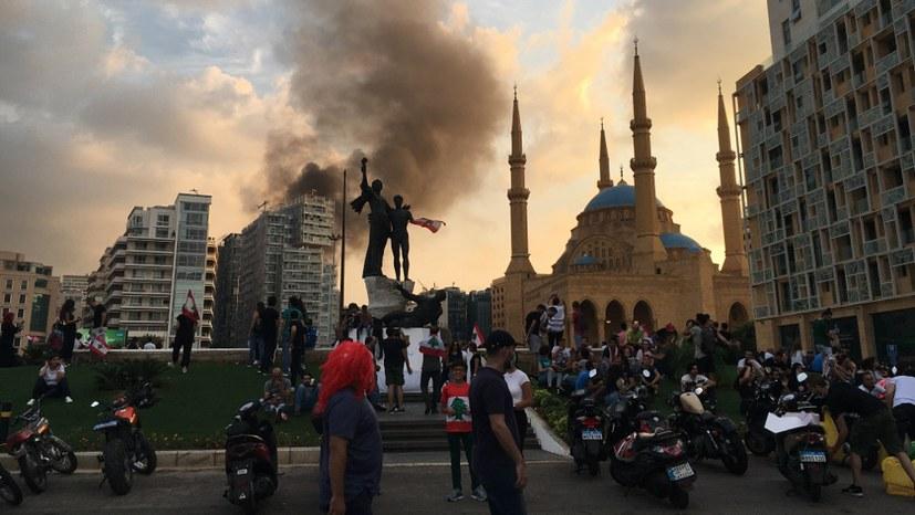"""Libanon: """"Wir können es nicht mehr ertragen - das ganze System muss weg!"""""""