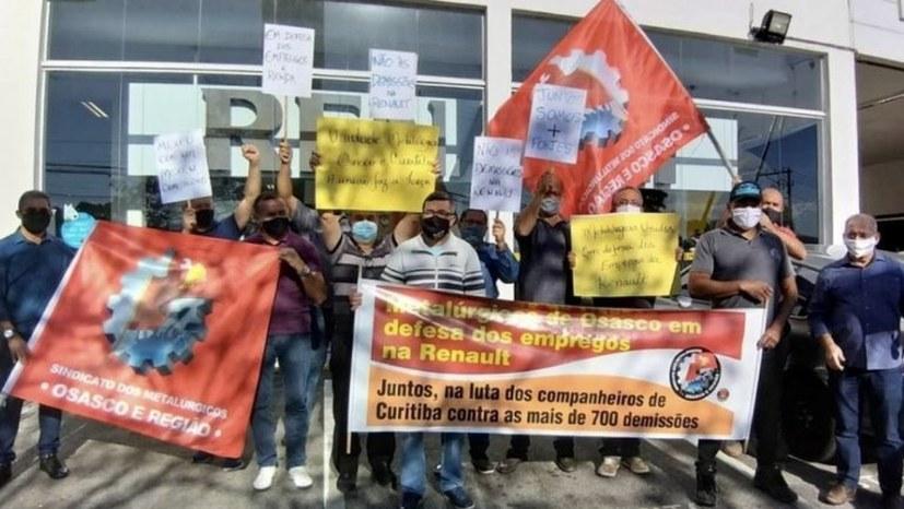 Streik der Renault-Belegschaft ging in den zehnten Tag