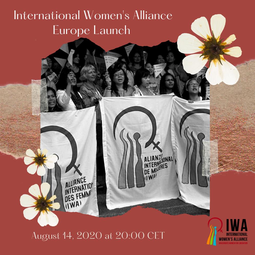Plakat der aktuellen IWA-Konferenz für Europa