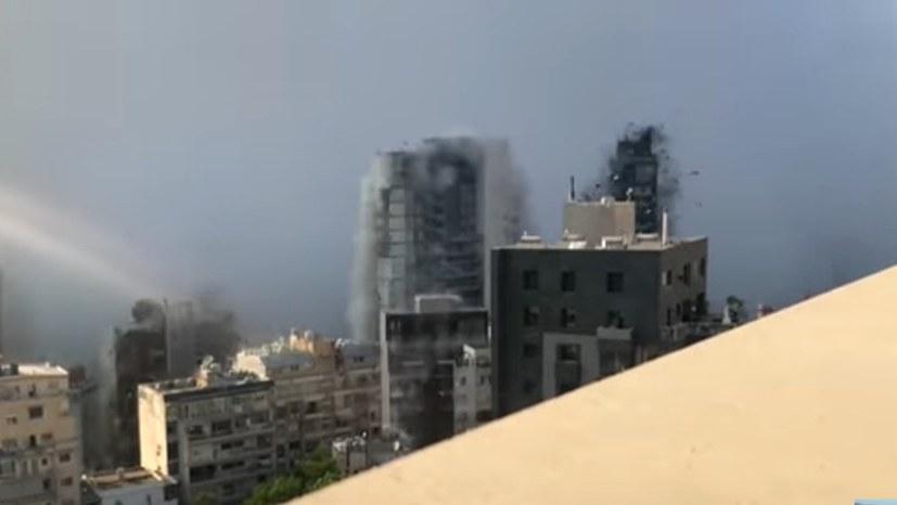 Explosion im Hafen