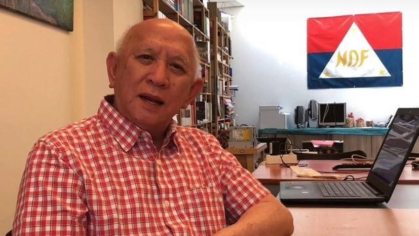 """Fidel V. Agcaoili """"Vorbild der Beharrlichkeit, vor allem für die Stählung der Jugend"""""""