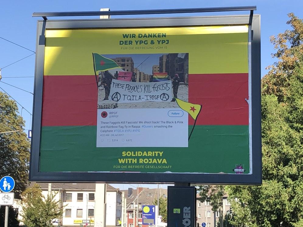 Solidaritätsgrüße an den Kampf für Freiheit und Demokratie des kurdischen Volks aus Essen