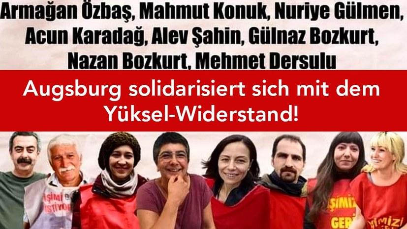 Solidarität mit dem Yüksel-Widerstand!
