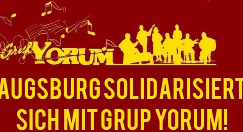 Solidarität mit Grup Yorum!