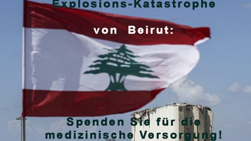 Spendenaufruf für Hilfsorganisationen im Libanon