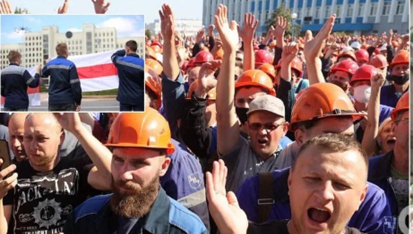 Zigtausende im Streik gegen Wahlfälschung