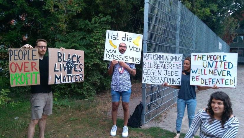 Kreativwerkstatt gegen Rassimus