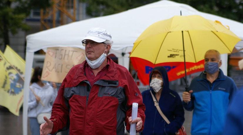 Schweigeminute für Ebru Timtik beim Aktionstag