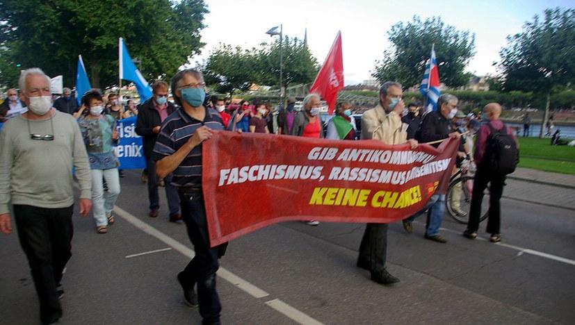 Antikriegstag in Frankfurt am Main
