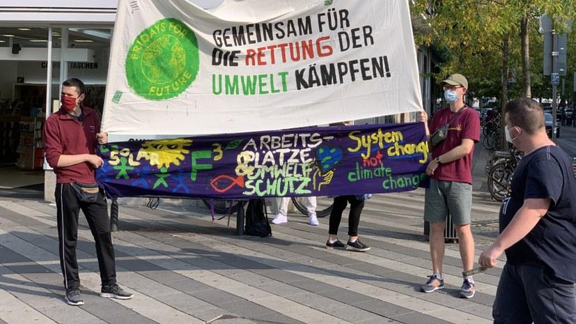 Mut machende Fridays-for-Future-Demonstration