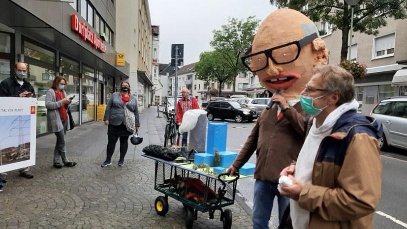 Protest gegen die Monstertrasse