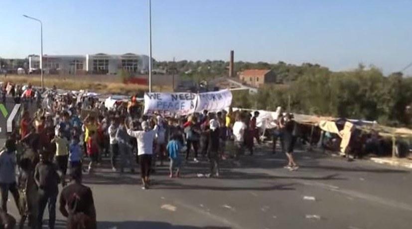 Seehofer untragbar - Rebellion der Flüchtlinge auf Lesbos gerechtfertigt!
