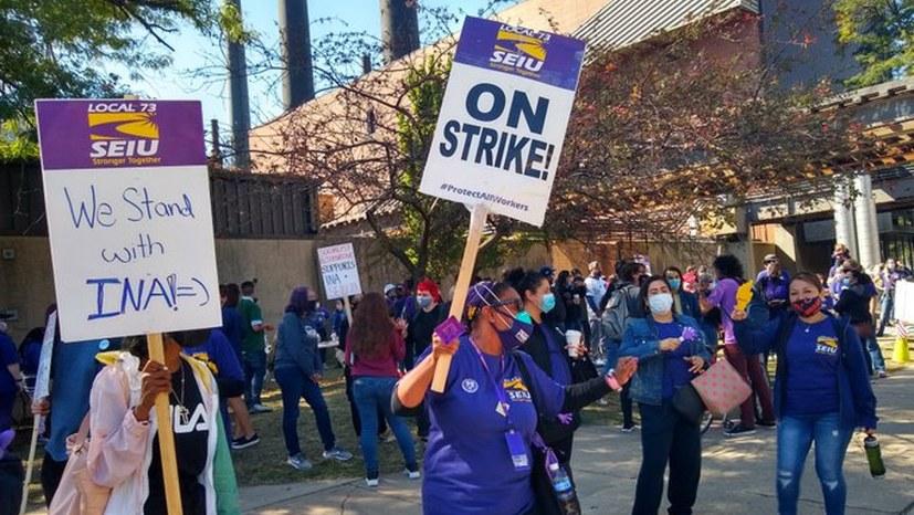 5300 Beschäftigte streiken unbefristet an Universität und Hospital in Chicago