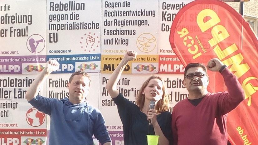 """""""In der Türkei verfolgt, in Deutschland verurteilt."""""""