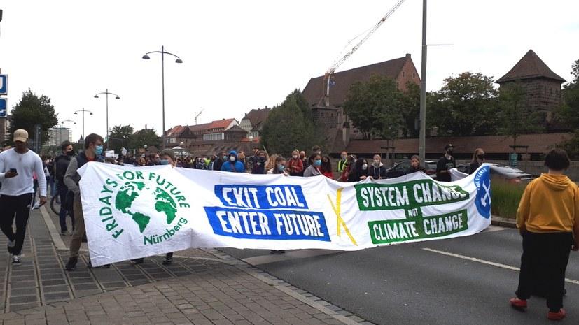 """Ein Riesenbedürfnis, wieder """"für die Umwelt"""" auf die Straße zu gehen"""