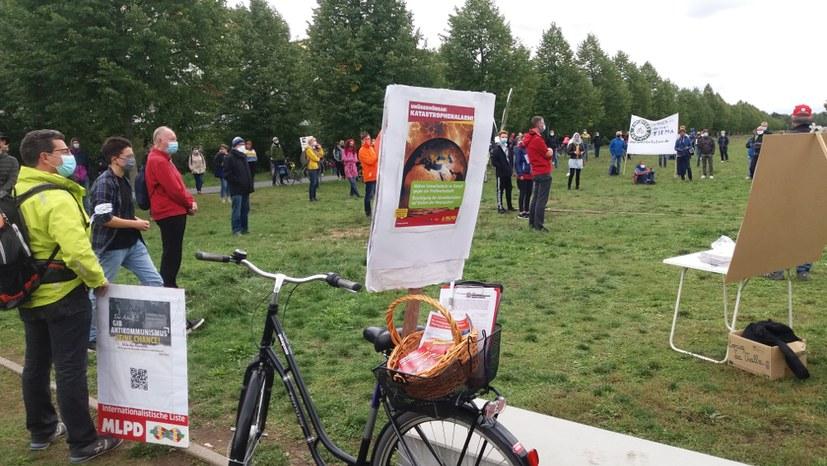 Umweltproteste in sechs Stadtteilen