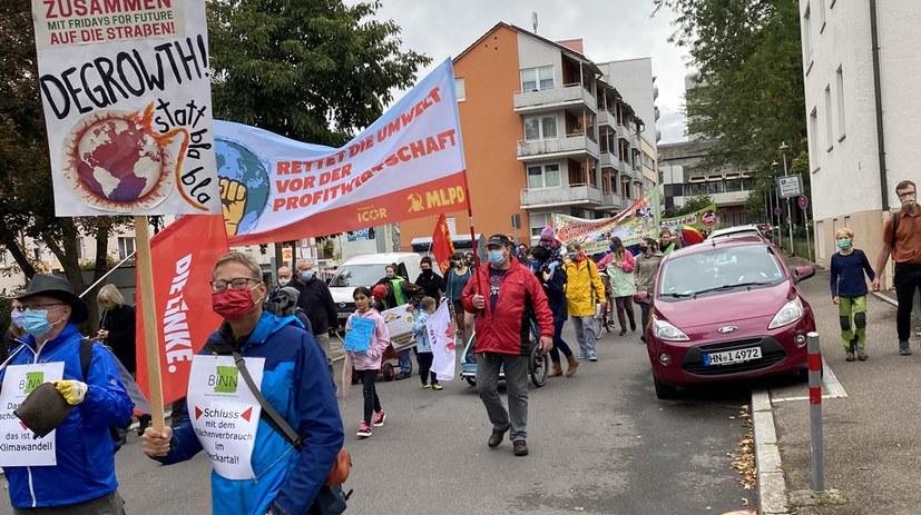 Mit den Kindern auf der Straße für die Zukunft