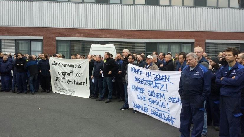 Ein Streik trifft den Konzern