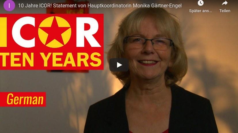 Hauptkoordinatorin Monika Gärtner-Engel zu zehn Jahren ICOR