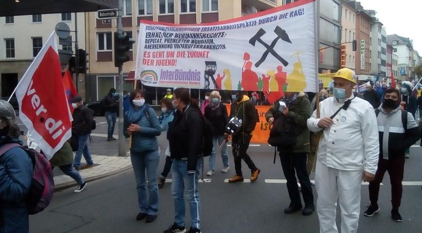 Herbstdemo geprägt von Arbeiterdelegationen