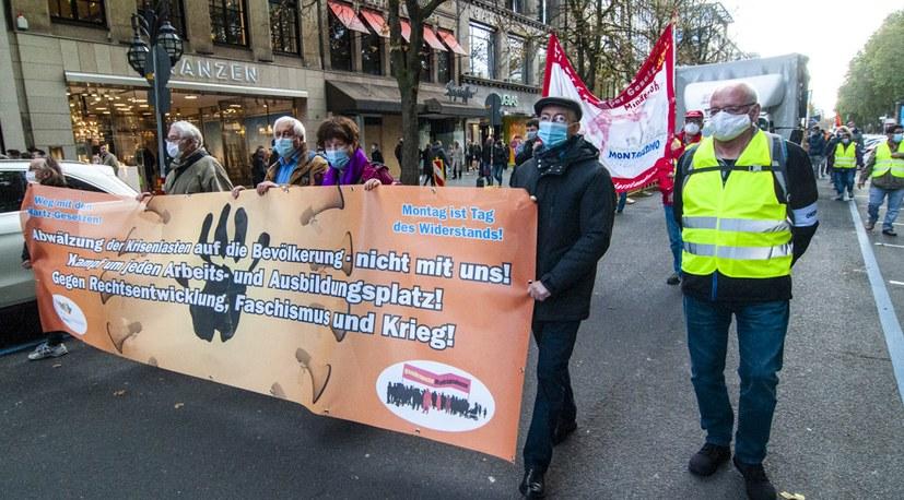 Geht: Kämpferisch demonstrieren und Gesundheitsschutz einhalten