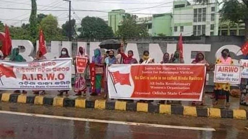 Demonstrantinnen gegen brutale Vergewaltigung verhaftet