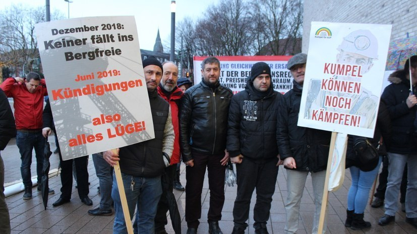 Landesarbeitsgericht Düsseldorf verhandelt in 2. Instanz über Kündigung eines Bergmanns durch die RAG