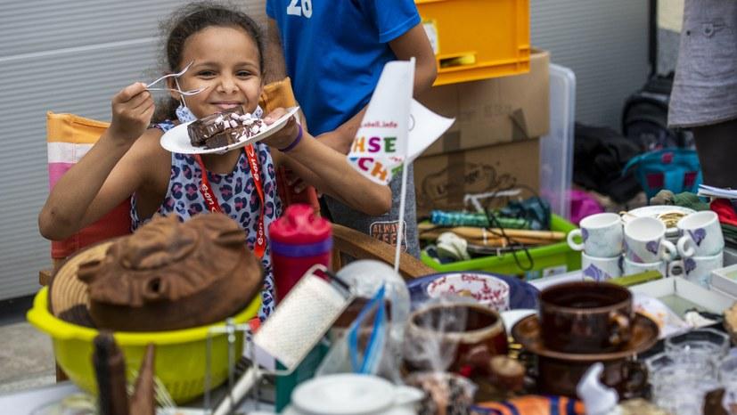 Rotfüchse Hagen freuen sich auf den Kinderflohmarkt