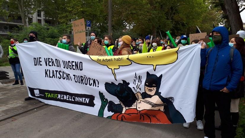 ver.di: Azubis am Klinikum Nürnberg streiken