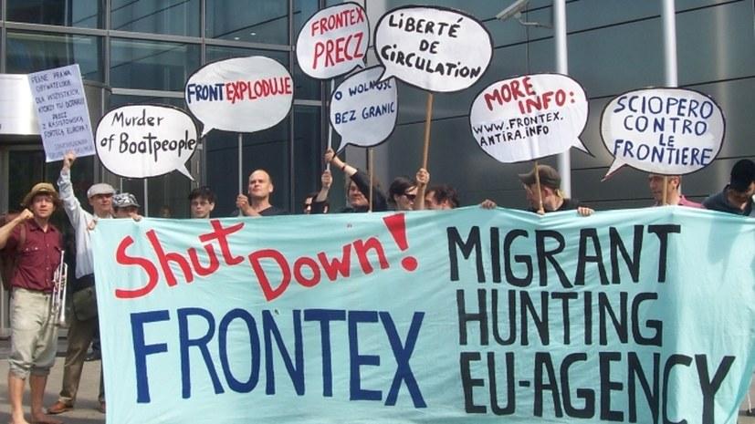 Verharmlosung der menschengefährdenden Frontex-Angriffe auf See