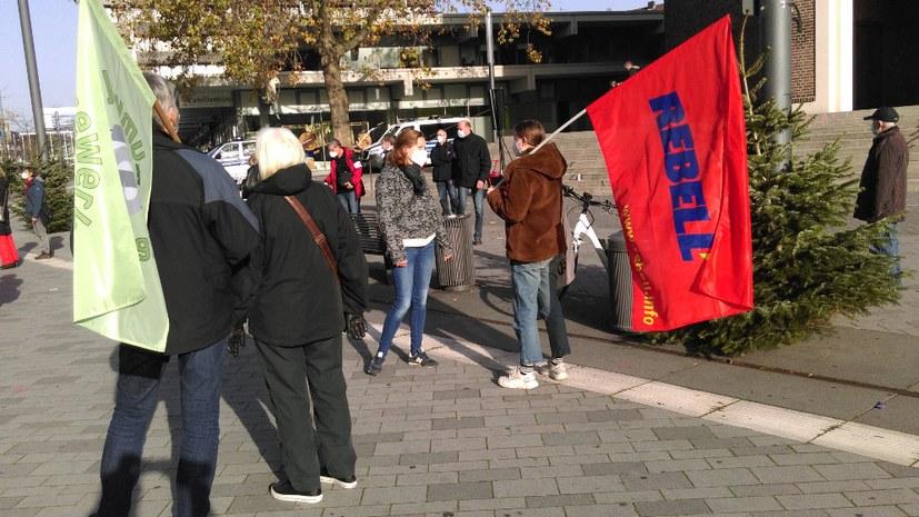 Marsch der AfD verhindert