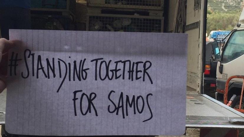 Neues aus den Flüchtlingslagern auf Lesbos und Samos