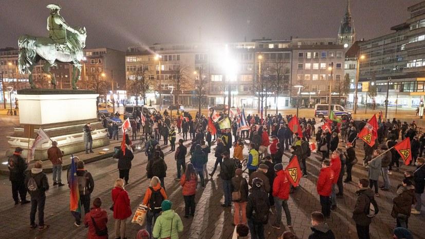 Reichspogromnacht-Gedenken – aktiver Antifaschismus und Nachdenkliches