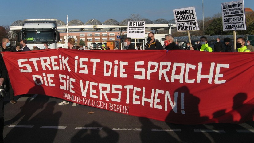 Rufe nach Streik