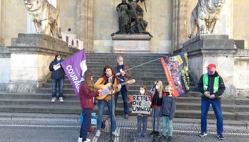 Umweltkampftag: In der Innenstadt ein Zeichen gesetzt