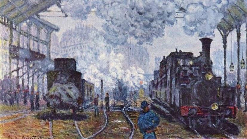 Claude Monet und die Dialektik in der Malerei