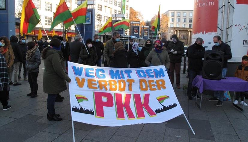 Beitrag der MLPD auf Demo gegen PKK-Verbot kam gut an